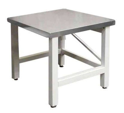 STAINLESS SIDE TABLE 90X75