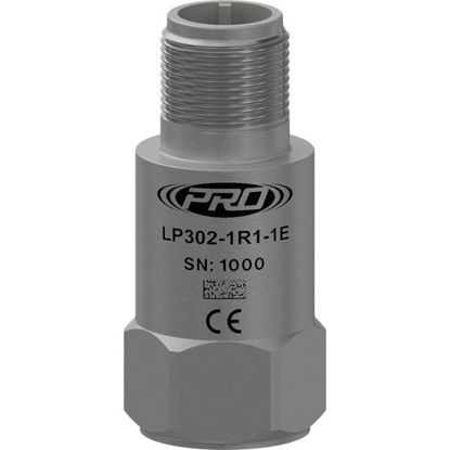 Model: LP302-20R5-1E - Loop power sensor, acceleration, top connector, 4-20 mA output, acceleration; Measurement Range: 0-20 g; Range Type: RMS; Frequency Range: 180-300000 CPM (3-5000 Hz); Standard 1/4 28 Mounting Screw