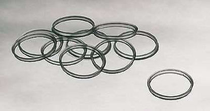 Kimble Chase 14395P-45 Replacement Pouring Ring for Media Bottles, PP, clear, 10/cs