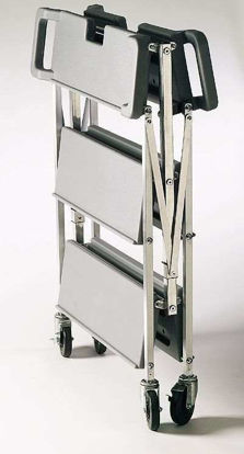 "Space-Saving Folding Cart SBC152123, Small 30"" x 35.5"", 350 lbs Cap"