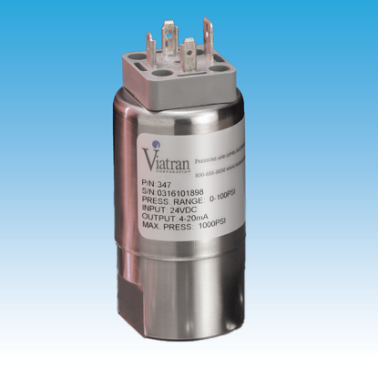 "0 - 5000 PSIS, 4 - 20 mA output, Amphenol 6-pin electrical connector, 1/4"" NPT female pressure connection"