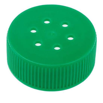 CELLTREAT Scientific Products 229477 Bio-Reaction Centrifuge Vented Tube Cap, 50 mL, Bag, Sterile; 100/Cs