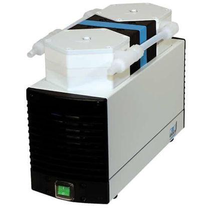 KNF LABOPORT® N 840 FTP Diaphragm Vacuum Pump, 34 L/min, 75 torr; 230 VAC