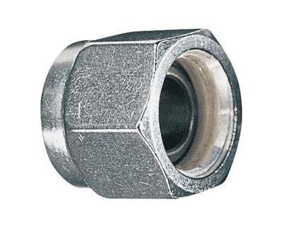 "Parker Hannifin 4 BZ-SS-C Compression Fitting Ferrule Nut, 316SS, 1/4"" OD; 1/EA"