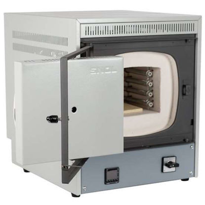 SNOL 6.7/1300 LSM01  Muffle Furnace, 6.7 L, Sideways Opening Door, 230V
