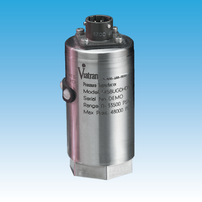 "Model: 34BARG - 0 - 300 PSIG, 4 - 20 mA output, Amphenol 6-pin electrical connector, 1/4"" NPT female pressure connection"