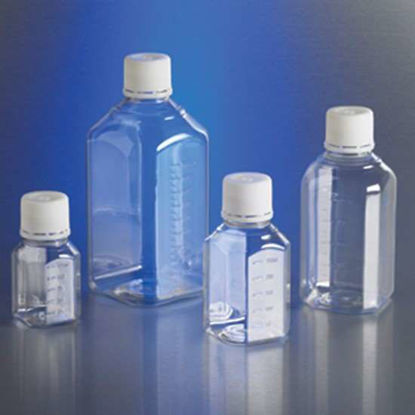 Corning Gosselin Octagonal Storage Bottle, sterile PET, graduated, bulk pack, 500 mL; 120/cs