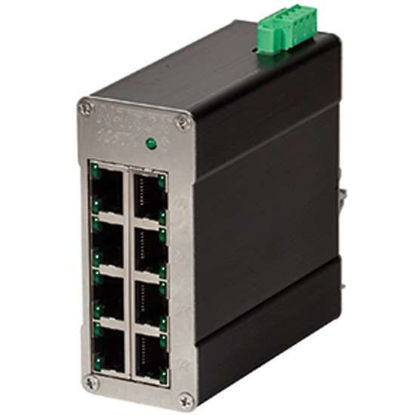 Red Lion N-TRON N-Tron Unmanaged Industrial Ethernet Switch, 8 Port; TX
