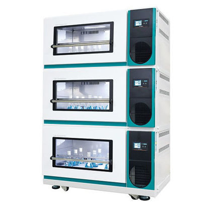 Lab Companion ISS-7200R Stackable Refrigerated Incubated Shaker, 7 cu ft, 230V, 50H