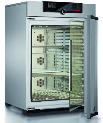 Peltier cooled incubator IPP260plus, TwinDISPLAY, 256 l, 0 °C - 70 °C with 2 grids