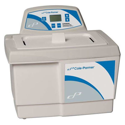Cole-Parmer Ultrasonic Cleaner with Digital Timer, 2-1/2 gallon, 115 VAC