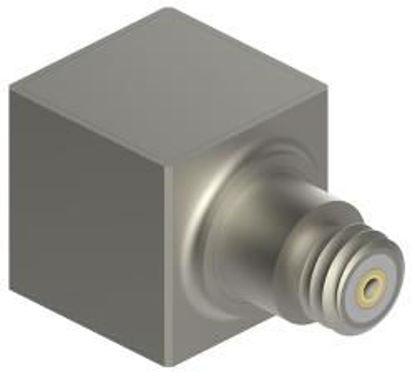 Model: 3097A3 - 10-32 side connector, 5-40 mounting stud 10g range, 500 mV/g