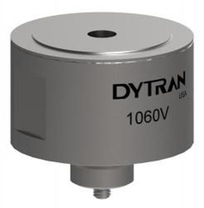 Model: 1060V3 - Axial connector, 3/8-16 tapped hole top surface 5,000 LbF range, 1 mV/LbF