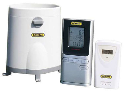 Wireless Rain Collector with Temperature