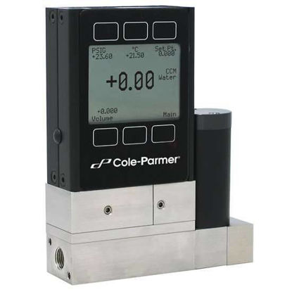 Flow controller, volumetric, for water, 0 to 50 mL/min