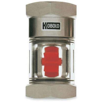 Kobold DAA5120 Flow Indicator, Brass, 12.15 GPM Max