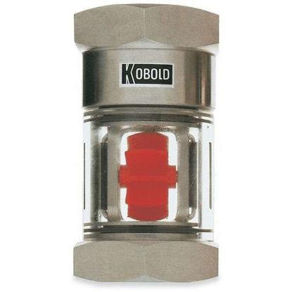 Kobold DAA6208 Flow Indicator, SS w/o Rotor, 3.17 GPM Max