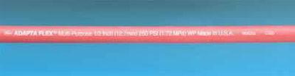 "Gates Adapta Flex General Purpose Hose; 1""x1.39"", 50 ft/pk"