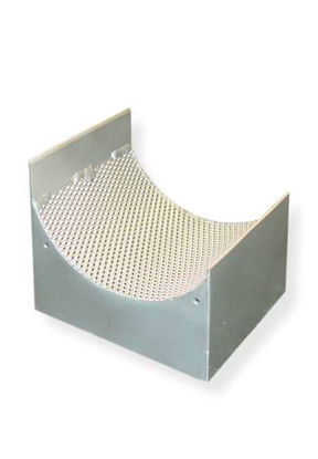 Sieve cassettes made of chromium-free steel DC01 1 mm trapezoidal perforation