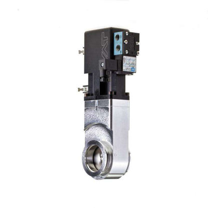 Miniature UHV gate valve DN40KF Alu 24V