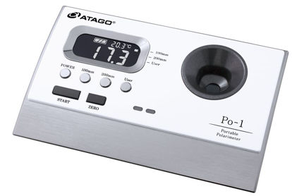 Polarimeter Po-1, Optional scale 100mm or 200mm