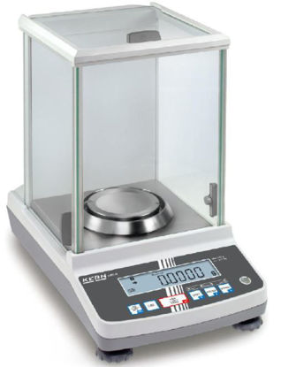Analytical balance, max weigh range 220g, readout 0.1mg