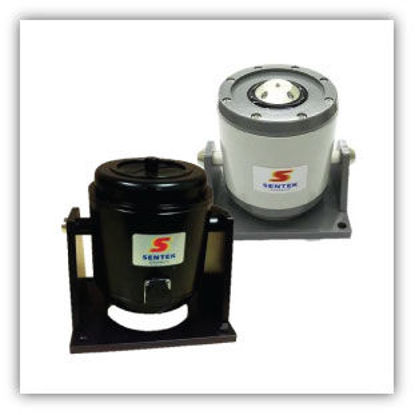 Model: IA20N - Mini Shaker with Integral Power Amplifier - The mini shaker is a small, portable permanent magnet exciter with an integral power amplifier. The design eliminates the need for a separate, inconvenient power amplifier.