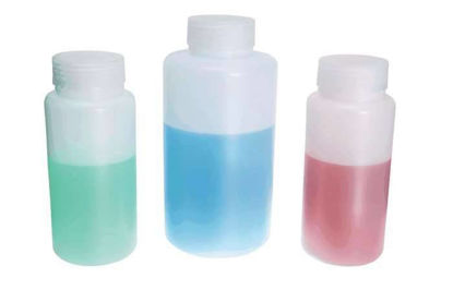 Cole-Parmer Wide-Mouth HDPE Bottles, 125 mL (4 oz), 12/Pk