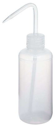 Cole-Parmer elements PL-W500-PE Narrow-Mouth LDPE/PP Wash Bottles, 500 mL (16 oz), 12/Pk