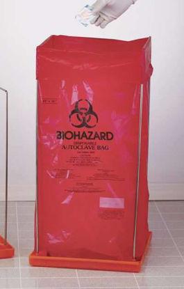 "BIOHAZARD BAG HLDR 14""X14"""