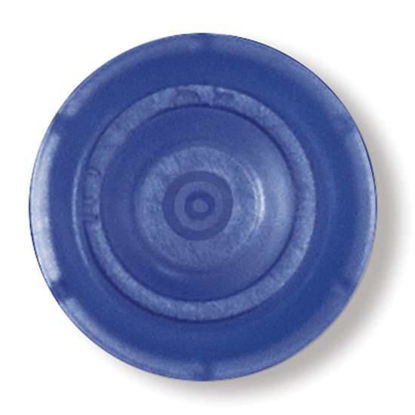 CUVETTE CAP BLUE 100PK Save time