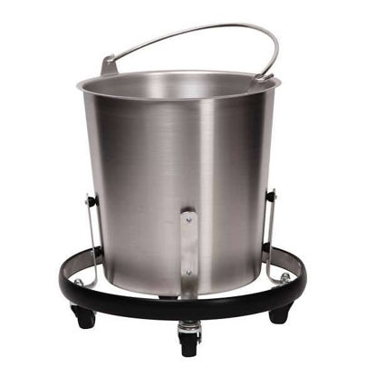 STAINLESS STEEL PAIL; 16QT.