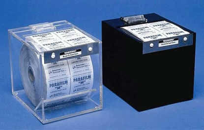 """Parafilm 176205 Clear Acrylic Dispenser and Cutter for 4"""" Wide Film"""