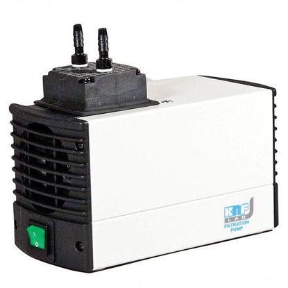 KTP Corrosion-Resistant Vacuum Pump; PTFE/PPS/0.19 cfm/5.5 LPM/160mbar/230V