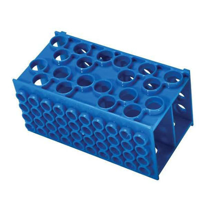 Cole-Parmer Cube test tube rack, PP, 1/ea