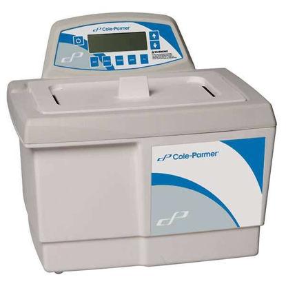 Cole-Parmer Ultrasonic Cleaner, Heater/Digital Timer; 2.8L, 230V