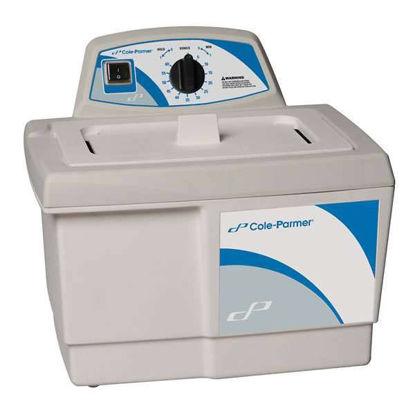 Cole-Parmer Ultrasonic Cleaner, Heater/Mechanical Timer; 0.75 gal, 230V