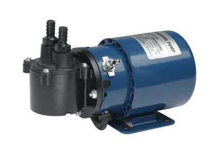 Air Cadet Vacuum/Pressure Pump, Diaphragm, single head, 0.45 cfm, 230 VAC