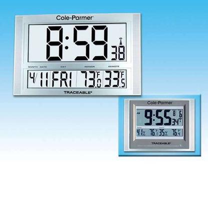 CLOCK RADIO ATOMIC LARGE DIGIT