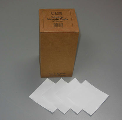 Glass Fiber Sample Pads, 10 cm Square, case of 12 boxes, 400 pads in a box