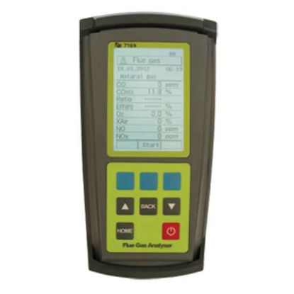 Flue Gas Analyzer for automotive, industrial, and emission applications