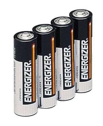 Energizer Regular Alkaline Batteries, 1.5 V, AA, 4/pack