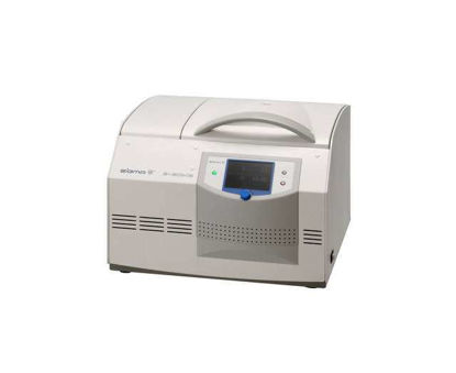 Sigma 3-30KHS, refrigerated high speed table top centrifuge, incl. heating device, max. rotor temp. +40°C up to +60°C depending on rotor and speed, 220-240 V, 50 Hz