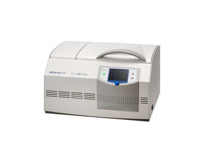 Sigma 4-16KHS, refrigerated table top centrifuge, incl. heating device, max. rotor temperature +40°C up to +60°C depending on rotor and speed, 220-240 V, 50 Hz