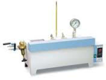 Gum test apparatus 3-post-unit, 230V, 50/60 Hz. air jet evaporation method