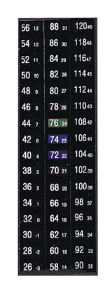 THERMOMETERS MAGNETIC 10/PK