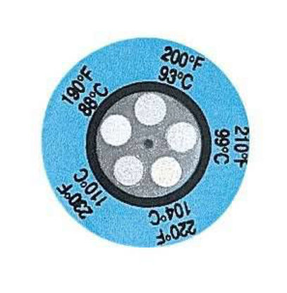 TEMP LABELS 390-435F 25/PK