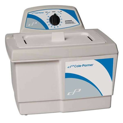 Cole-Parmer Ultrasonic Cleaner with Mechanical Timer, 1-1/2 gallon, 230 VAC