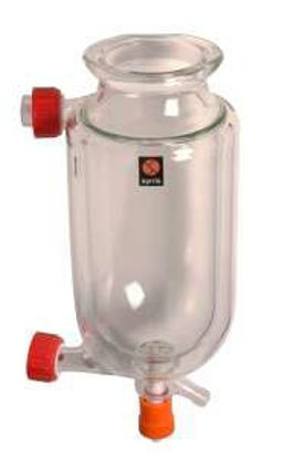 Jacketed Vessel Round Bottom 2 litre