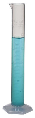 GRADUATED CYLINDER PP 50ML